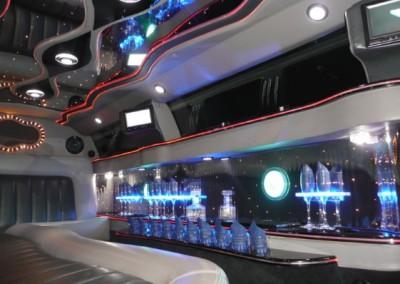 Limousine Chrysler 300C Alladin interno