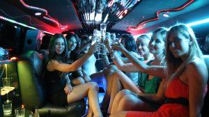 Festa della donna in limousine